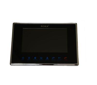 Видеодомофон AHD R-710 (White/black) ROKA, фото 1